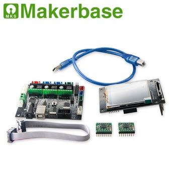 OFFLINE MKS DLC GRBL CNC Shield controller + TFT24 touch screen