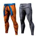 Verão 2016 Nova Mens calças de compressão calças musculação skinny leggings calças