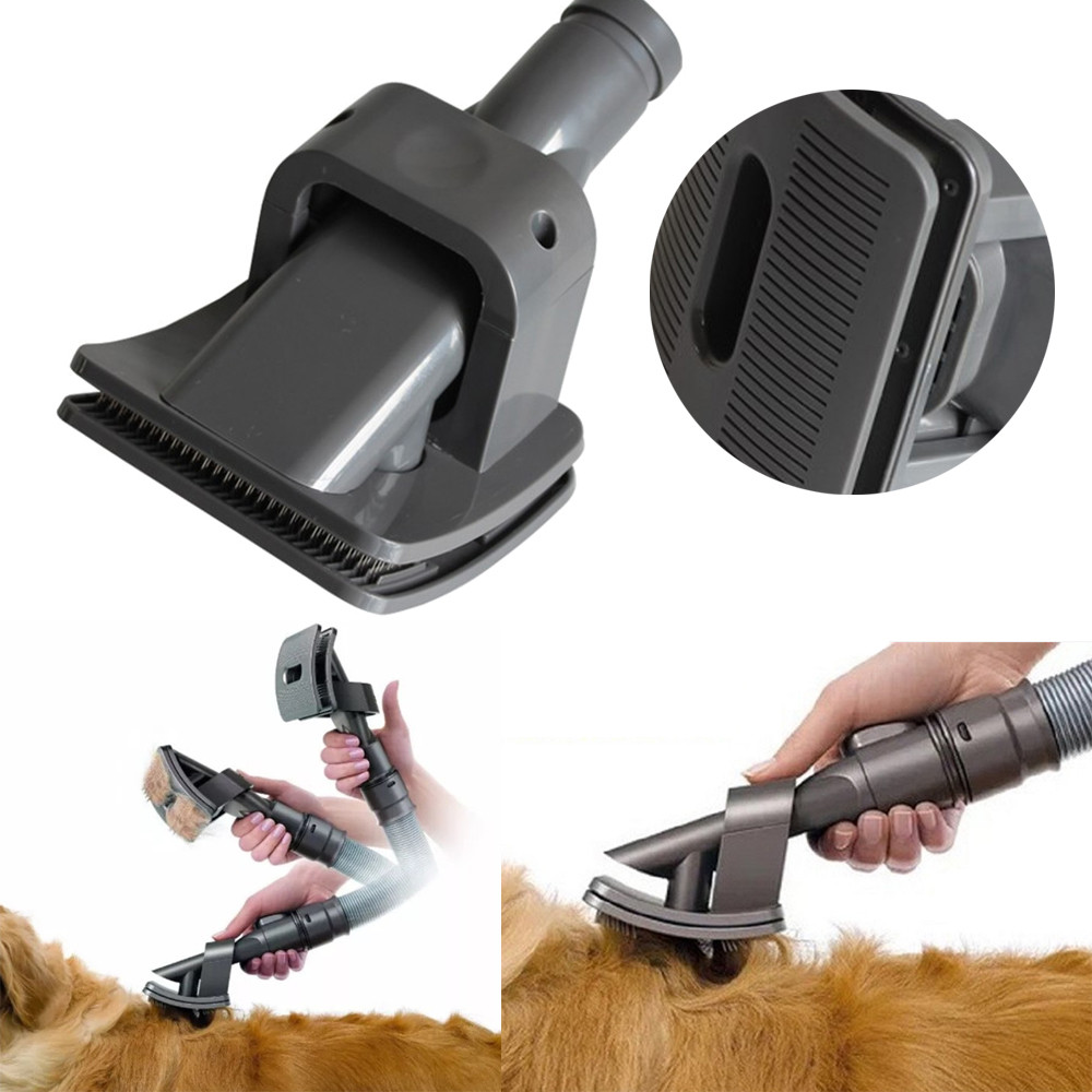 Transer High Quality Dog Grooming Brush Head Mascot Brush For Groom Animal Allergy Vacuum Cleaner Jan19 image