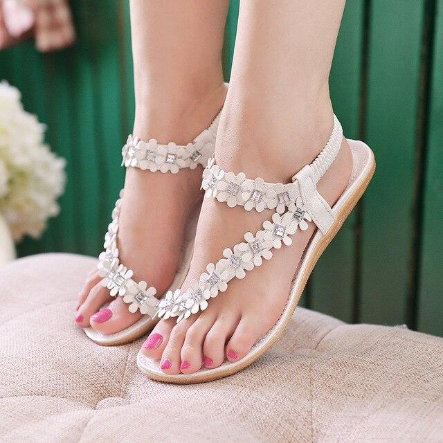 Van Nice Set Gebroken Teen Vrouwelijke Mooie Elastische Sandalen tdshQr
