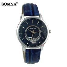 hot deal buy  new quartz jewelry hot wholesale fashion hour female clock relogio feminino leather rhinestone wristwatch women dress watches