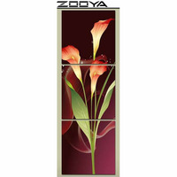 ZOOYA Wall Sticker Diamond Embroidery 3d DIY Diamonds Painting Cross Stitch Triptych Painting Flowers Mosaic Picture