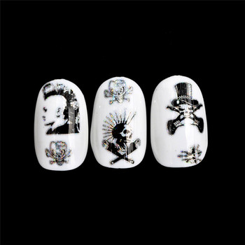4*100CM Design Nail Art Foil Stickers Transfer Decal Tips Manicure  2019 Hot product discount beauty Маникюр