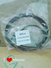 Wholesale and retail for nikon Total Station com data cable,Total Station data cable,Compatible with windows 8 windows 7
