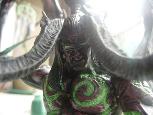 Game Wow Demon Hunter illidan Stormrage PVC Action Figure Toys 4