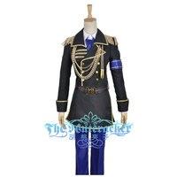 K Anime Return Of Kings Fushimi Saruhiko For Adult Cosplay Costume Uniform Blue Pants Hat Outfit Clothing Halloween