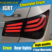 4PCS Car Styling For Chevrolet Cruze Tail Lights 2009 2015 For Cruze LED Tail Lamp Turn