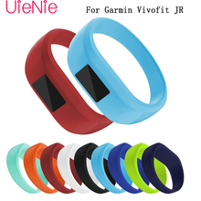 Soft silica gel watchband For Garmin vivofit JR Children's smart watch band fit the wrist is not easy to wear wristband band highlight women s fashion shoes strong is not easy to wear suitable for girls to wear shoes in formal places low price for sale