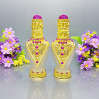 33ml gypt perfume bottle with pump sprayer,gold color aluminum sprayer vintage perfume bottle
