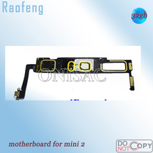 Raofeng high quality for Tablet PC mainboard Wifi Version 32GB  Unlocked  Motherboard For ipad mini 2  full function logic board
