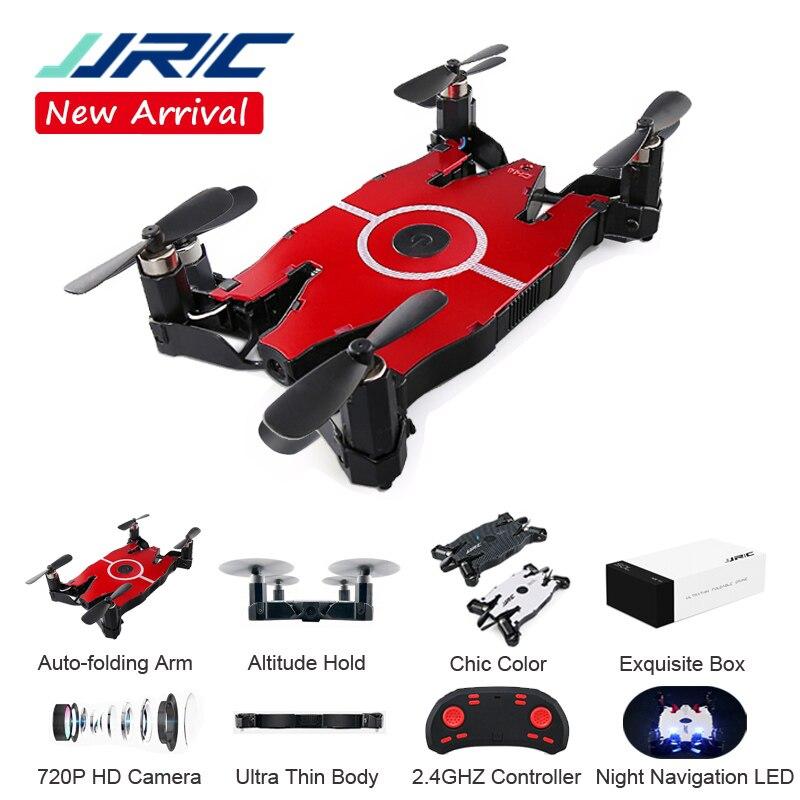 JJRC H49 Wifi FPV Mini Drone Selfie caméra HD bras pliable automatique RC quadrirotor hélicoptère cadeau de noël enfant VS H37 Eachine E57