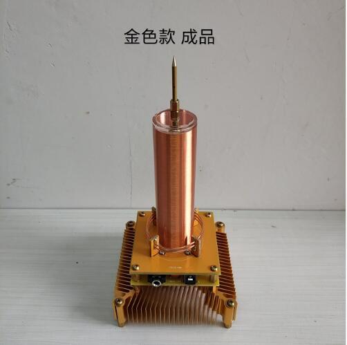 Station de Transmission sans fil de couronne de moulin à vent d'ion de musique de bobine de Tesla