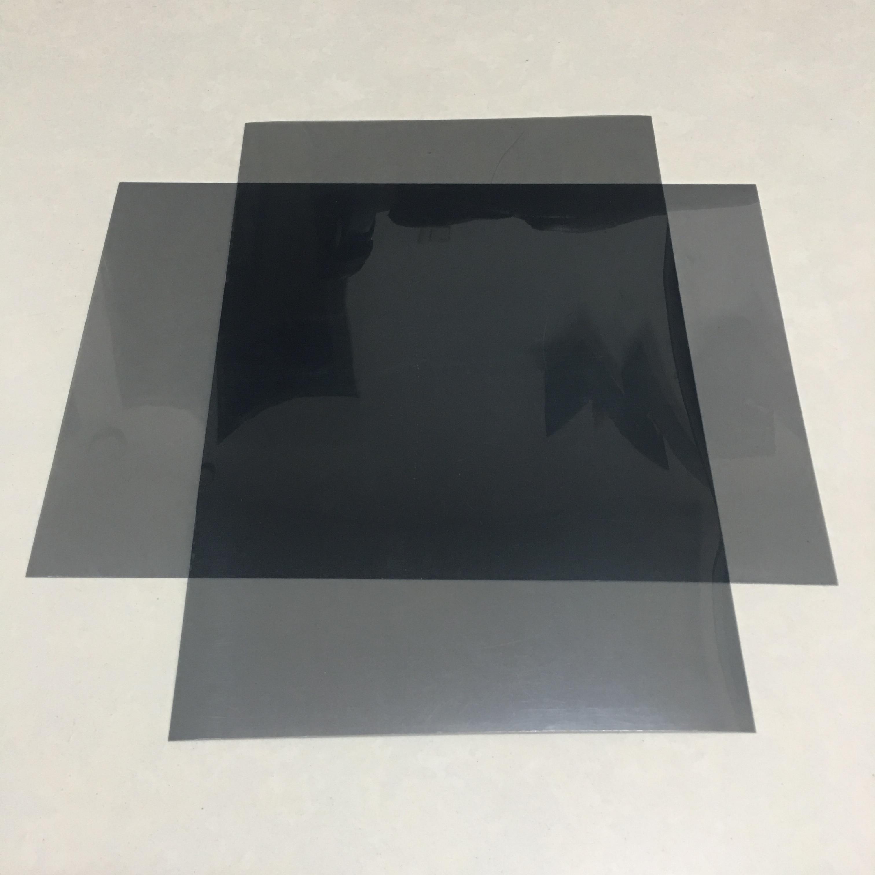 2pcs Pack 30*20CM Horizontal 0 degree Linear polarizer film,polarized filter,polarizer film(China)