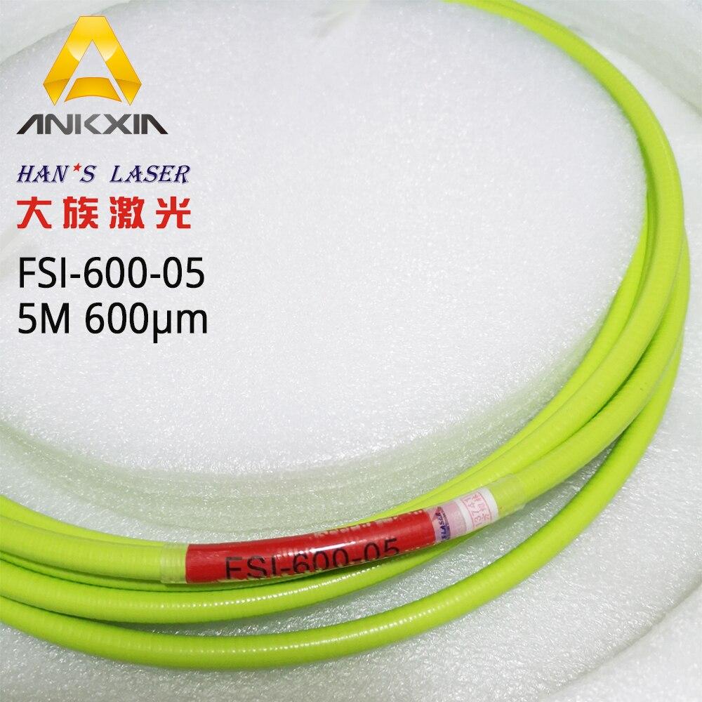 Hans fibre énergétique Laser 5 mètres FSI-600-05 FSI-400-05