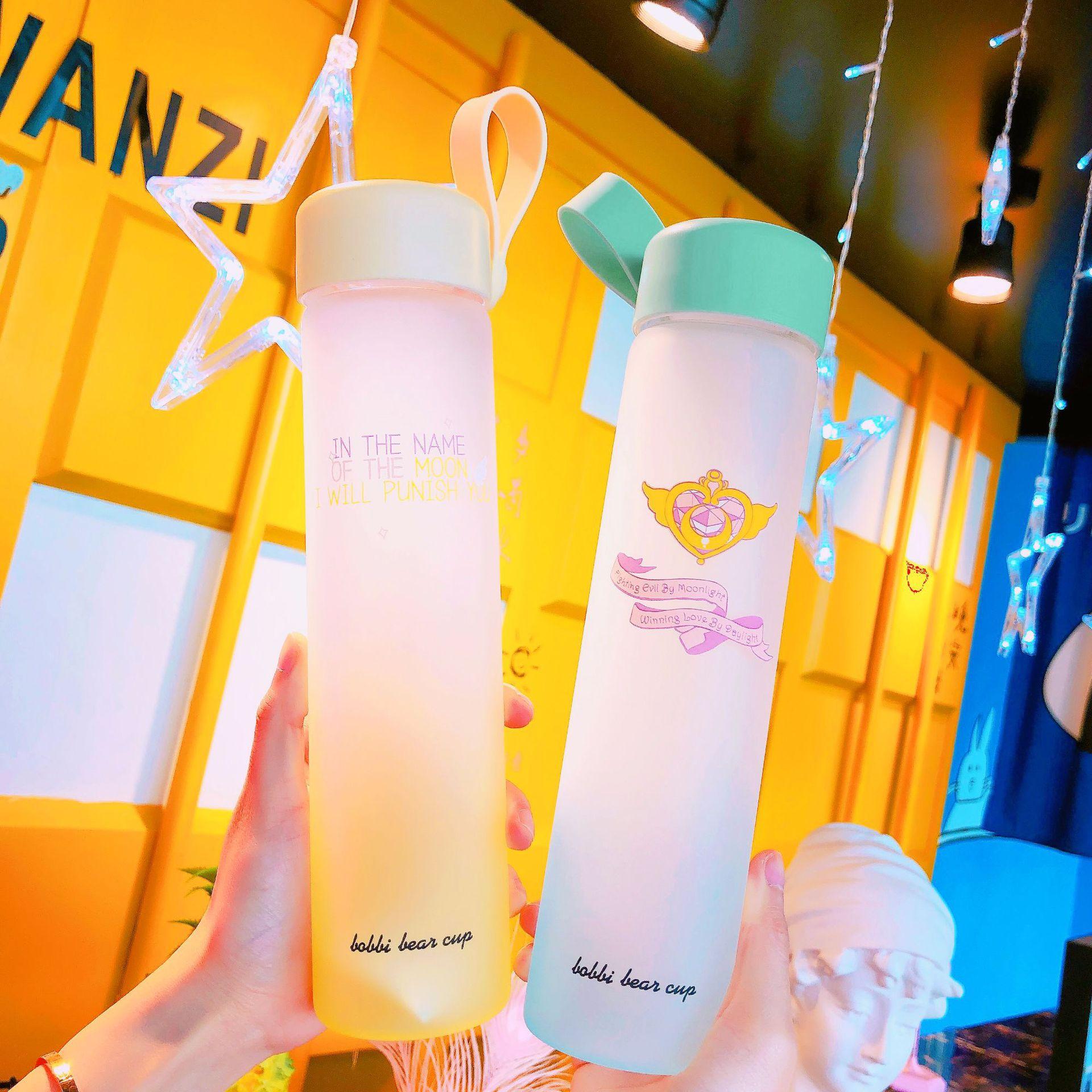 Magic Wand Glass Water Bottle 1