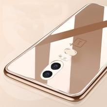 OnePlus 6 Case Silicone One Plus 6T 5T 5 3T 7 Pro 7Pro Protector Transparent funda Cover Coque Etui Hoesje Accessory