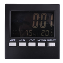 Big discount Free shipping, digital indoor and outdoor temperature and humidity, electronic temperature and humidity meter