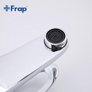 Image 3 - Frap קלאסי סגנון אגן מגופים סיפון רכוב קר וחם מים מיקסר יחיד ידית Torneira F1003