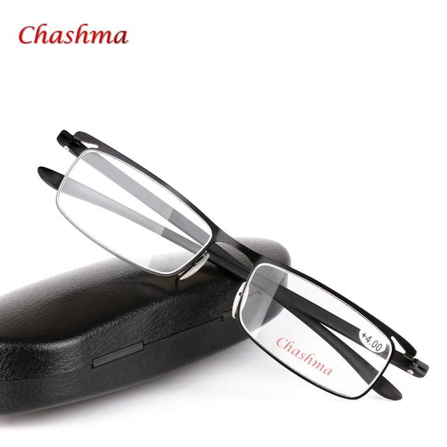 Moldura quadrada Óculos de Prescrição Óculos de Leitura Hipermetropia Longe  da Vista Dos Homens de Negócios db85df14f2