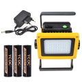 18650 light 30W 3 Modes 20 leds light Waterproof Outdoor led rechargeable Flood light +US/EU charger+3x18650 battery