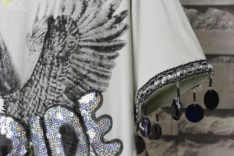 Уникальное Летнее Длинное платье для женщин с камуфляжным принтом, прозрачные платья с цветочной аппликацией и орлом, платье с блестками, Vestidos De Festa Robe NS631
