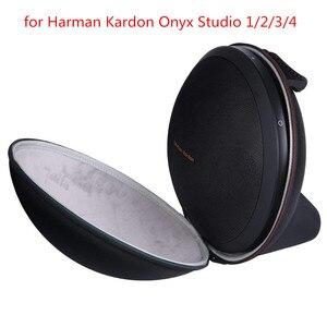 Image 1 - New EVA PU Hard Bag Cover Case for Harman Kardon Onyx Studio 1, 2, 3, 4 Wireless Bluetooth Speaker Extra Space for Plug&Cables