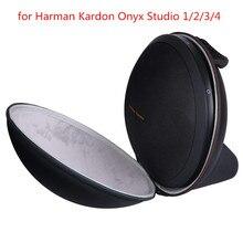 Nieuwe EVA PU Hard Bag Cover Case voor Harman Kardon Onyx Studio 1, 2, 3, 4 draadloze Bluetooth Speaker Extra Ruimte voor Plug & Kabels