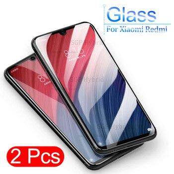 2 uds pocofone F1 vidrio templado para Xiaomi Redmi Note7 Note 7 Pro Note 7Pro pocofonef1 Protector de pantalla de vidrio Protector de película Sklo