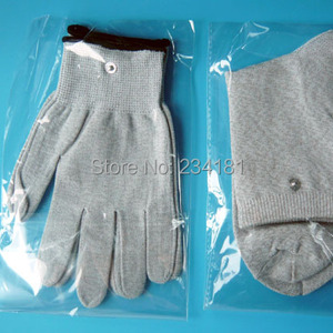 Silver fiber gloves, foot mass