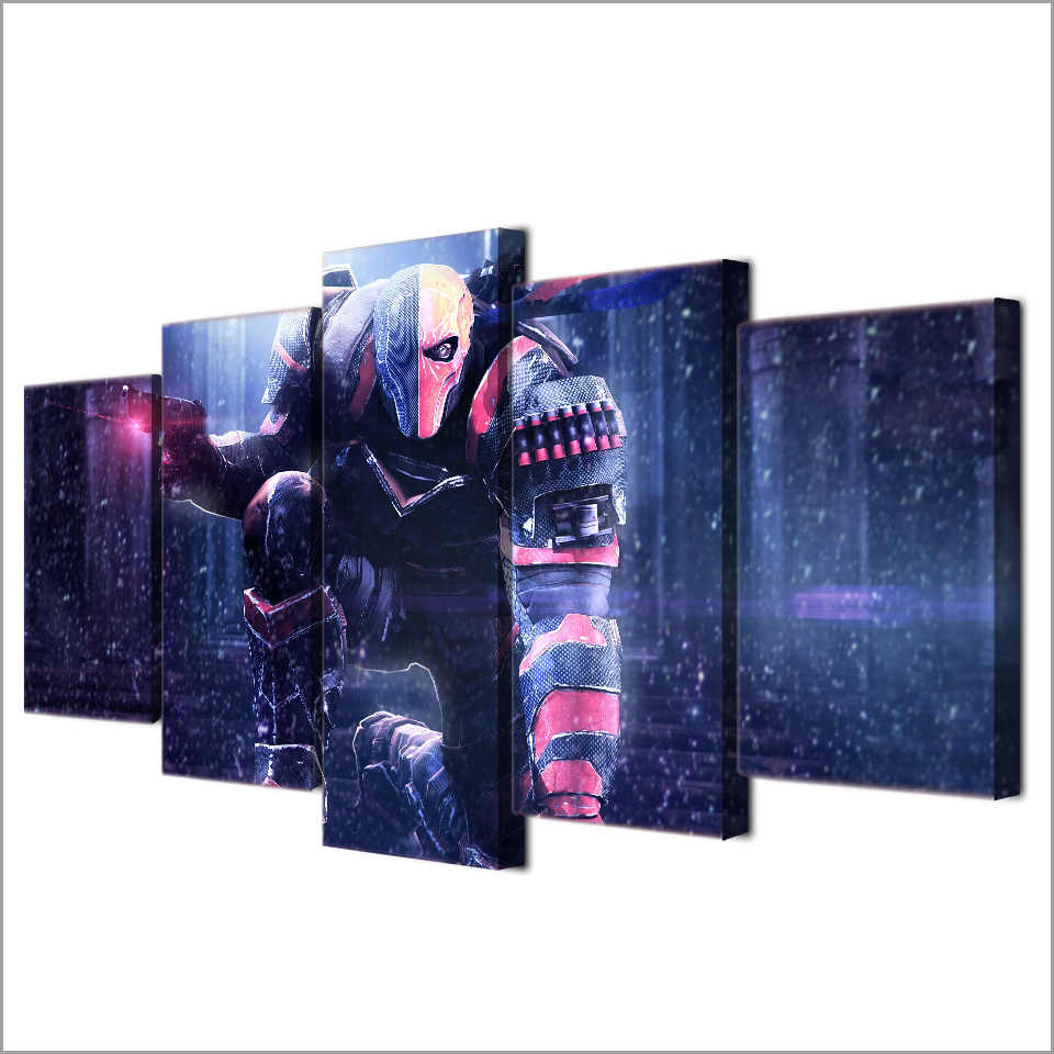 5 pieces / set of Movie Poster Series wall art for wall decorating home Decorative painting on canvas framed/FREE ART-Five-35