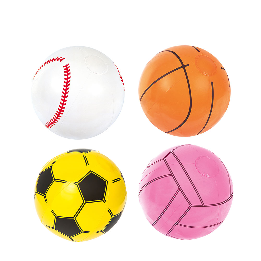 Inflatable Basketballs 12 inches- Sports Themed Birthday Favor Decor Pool Beach Party Toy Prize