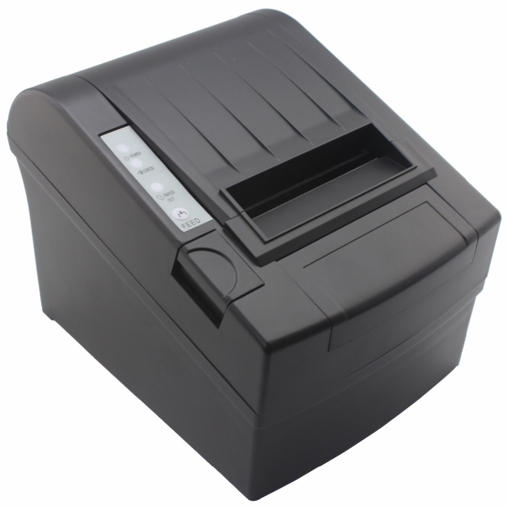 JP-8006 High Speed USB Serial LAN Ethernet Thermal Printer 80mm Thermal Receipt Printer 80mm POS Ticket Printer serial port best price 80mm desktop direct thermal printer for bill ticket receipt ocpp 802