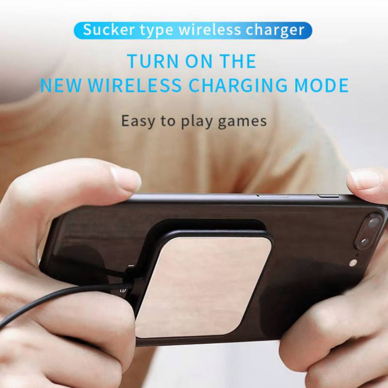 Octopus Suction Cup Wireless Charger iPhone Xs/Xr/Xs Max Wireless Charging Pad For Samsung Galaxy S9/S9 +