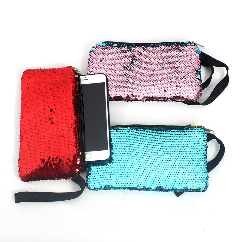 New Sequines Women Cosmetic Bags Travel Organizer Necessary Beauty Case Toiletry