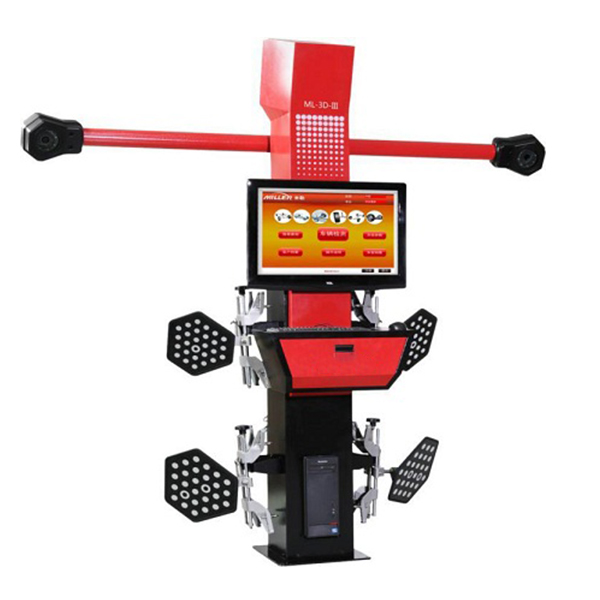 32LCD Movable Beam Auto 3D Wheel Alignment Machine With CE Certification Car Aligner