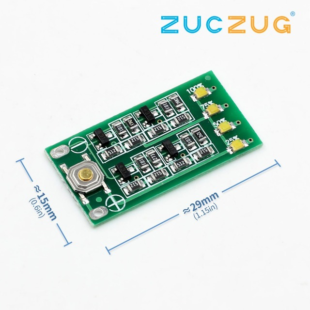 3S 11.1V 12V 12.6V Lithium Battery Capacity Indicator Module Lipo Li-ion Power Level Display Board 3 Series 9-26V