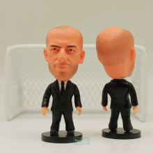 "Soccer Star 6.5 cm Height Resin Coach Dolls ZIDANE (RM) 2.5"" Action Figure Toys(China)"