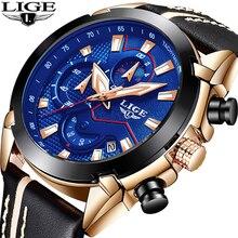 Business Men Watch Leather LIGE9869