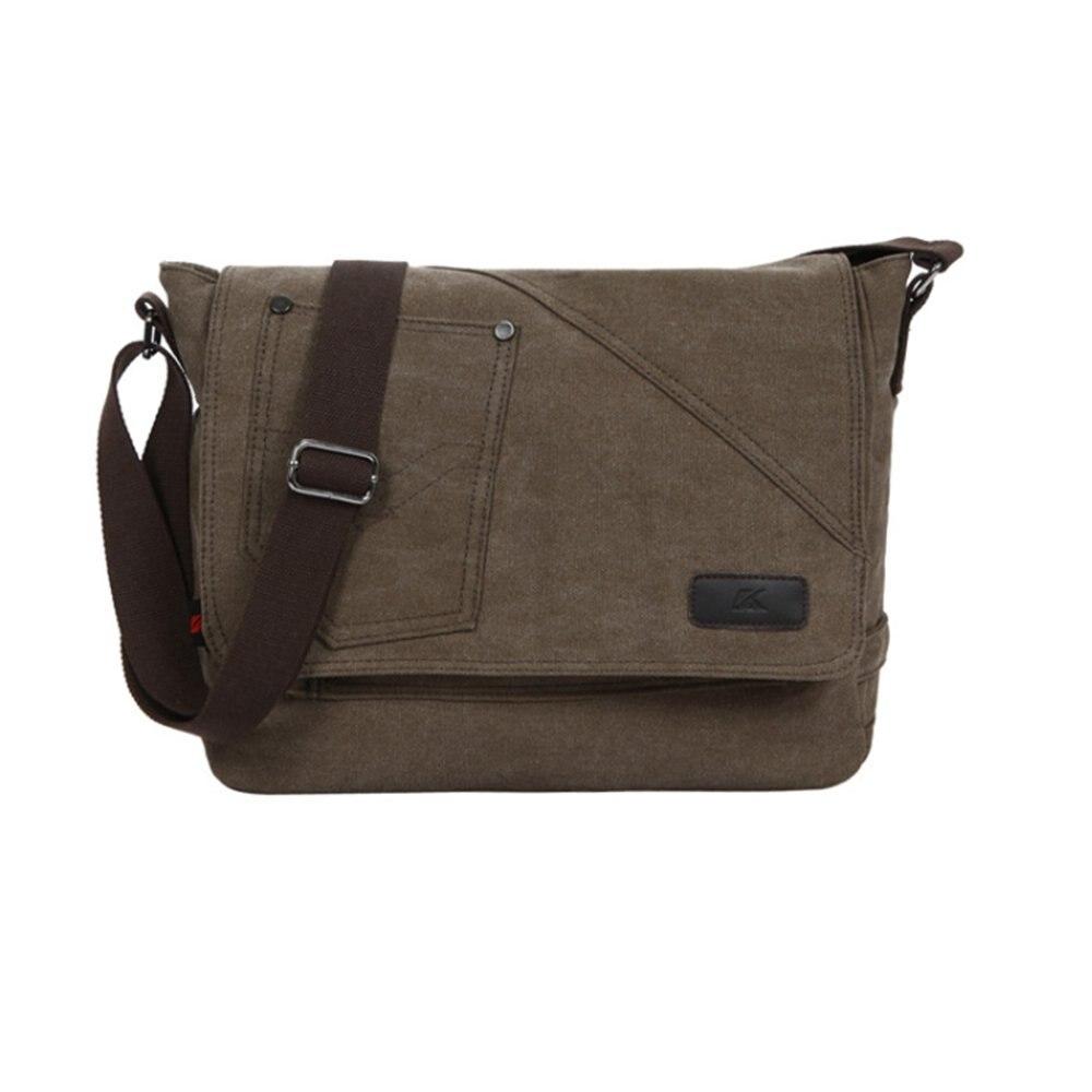 SCYL Canvas Men Bags Shoulder Male Bag Small Messenger Man Fashion Crossbody Handbag Men's Travel New