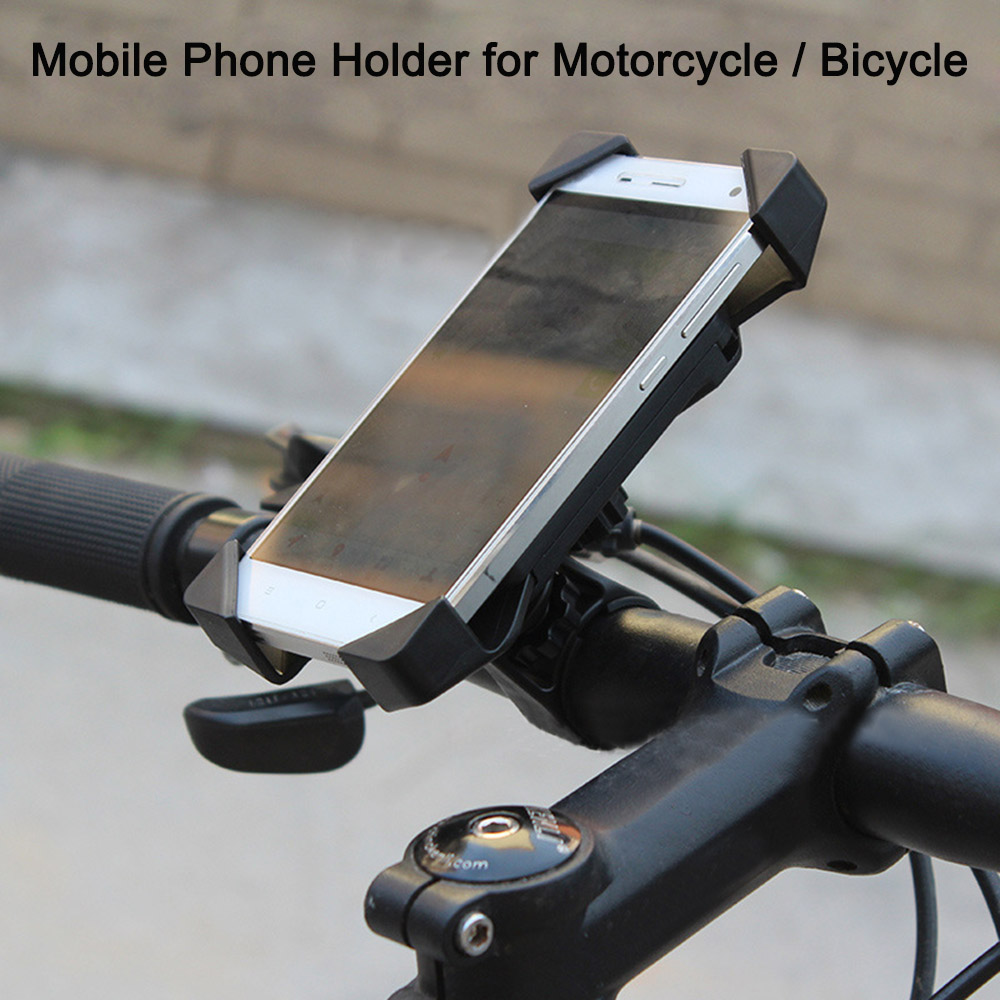 Motorcycle Phone Mount Cell Phone Holder Bicycle Bikes