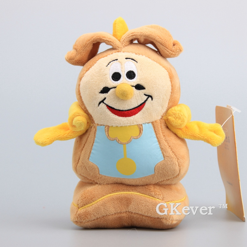 Beauty And The Beast Cogsworth The Clock Plush Doll Cute Mini Stuffed Toys 18 Cm Kids Gift