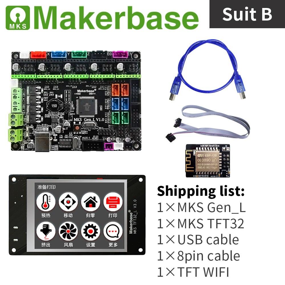 3d imprimante contrôleur kit MKS Gen_L et MKS TFT32 - 2