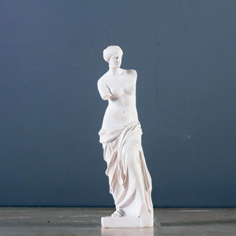 The Goddess Of Beauty And Love Twelve Olympians Among Venus Orchards Elves Fine Art Sketch Plaster Sculpture Model Toy G706