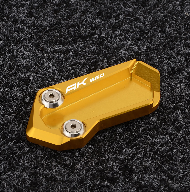 For Guangyang Rowing AK550 17-18 Years CNC Aluminum Alloy Modified Side Support Pad To Increase The Cushion Cover Accessories