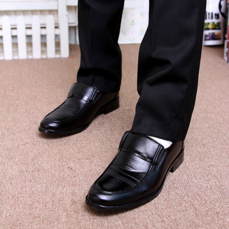 Formal Shoes Beautiful 2018 New Fashion Style Designer Formal Mens Dress Shoes Genuine Leather Luxury Wedding Shoes Men Flats Office Shoes Lc5253