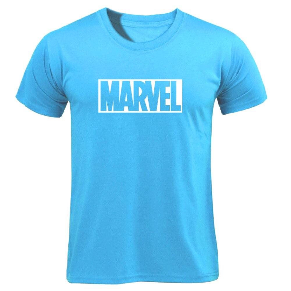 MARVEL T-Shirt 2019 New Fashion Men Cotton Short Sleeves Casual Male Tshirt Marvel T Shirts Men Women Tops Tees Boyfriend Gift 49