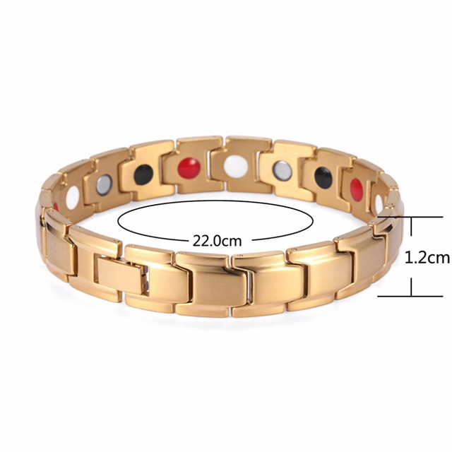 Купить welmag аксессуары магнитные браслеты и для мужчин золотой браслет