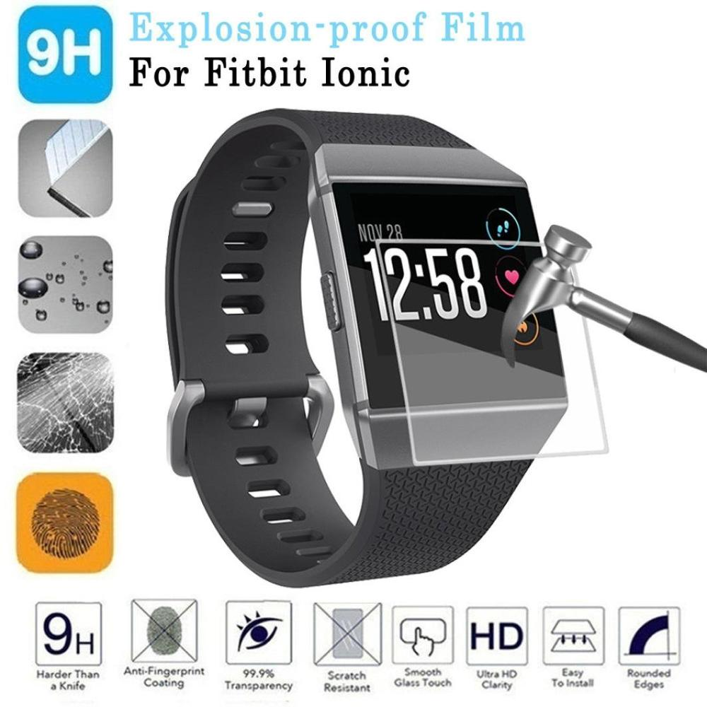 6PC 3D Ultra-thin HD High Definition Screen Protector Film For Fitbit Ionic Full Coverage Clear Screen Protection Film