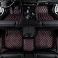 Otomobiller ve Motosikletler'ten Paspaslar'de Araba paspaslar Mitsubishi Pajero ASX Lancer spor EX Zinger FORTIS Outlander Grandis Galant araba styling özel paspaslar