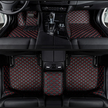 car floor mats for Mitsubishi Pajero ASX Lancer SPORT EX Zinger FORTIS Outlander Grandis Galant car styling Custom floor mats